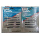 NEW MAKITA JIG SAW BLADES 18 PACKAGES