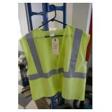 YELLOW - GREEN M-L SAFETY VEST