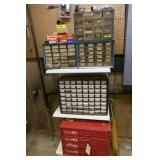 PARTS CABINETS - METAL & PLASTIC