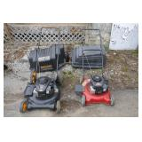 2 USED LAWN MOWERS - AS-IS