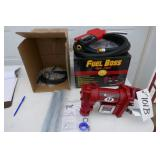 NEW-FUEL BOSS FUEL TRANSFER PUMP-15 GALS.PER MIN.