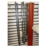 7- VARIOUS SIZE CHAINSAW CHAINS