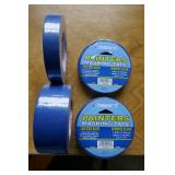 "PAINTERS MASKING TAPE - 2 ROLLS OF .94"" X 0 YDS"