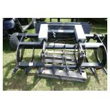 SKID STEER QA DOUBLE CYLINDER GRAPPLE