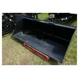 "84"" SKID STEER QA MATERIAL / SNOW BUCKET"