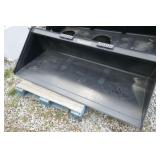 "72"" SKID STEER QA MATERIAL / SNOW BUCKET"