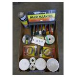 BOX PAINT MARKERS, WIRE,