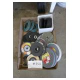 BOX- FORNEY GRINDING WHEELS, ABRASIVE WHEELS