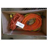 BOX W/ 4 EXTENSION CORDS