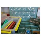 BIN SCREWS, ELEC. WIRE, SHINK WRAP, DRILL BITS,