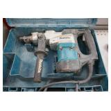 MAKITA HR4041C HAMMER DRILL W/CASE & LG. QTY. BITS