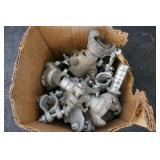 BOX OF COMPRESSOR HOSE ENDS & CLAMPS