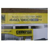 CHAMPION ELECTRIC OVERHEAD HOIST