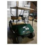 EZ GO TXT GAS POWERED GOLF CART-RUNS GREAT