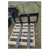 TOMAHAWK SKID STEER Q/A PALLEWT FORKS-NEW