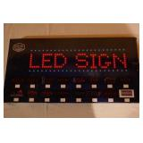 MAN CAVE LED SIGN-NEW IN BOX