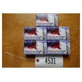 .223 REM FEDERAL AMERICAN EAGLE AMMO-55 GRAIN FMJ