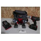 PORTER CABLE LITHIUM 18V CORDLESS SET