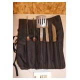NEW 4 PIECE GRILL UTENSIL SET