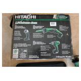 HITACHI 10.8V CORDLESS COMBO KIT-RECIPOCATING SAW,