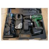 HITACHI CORDLESS DRILL & FLASH LIGHT