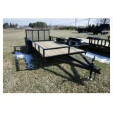 """NEW 2017 GRIFFIN 76""""X168"""" UTILITY TRAILER"""