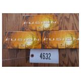 .243 WIN FEDERAL FUSION AMMO-95 GRAIN-2980 FPS