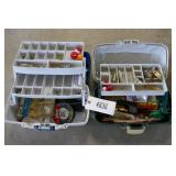 2 TACKLE BOXES W/ TACKLE