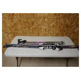 ATOMIC AXR1  170 MONOCAP SKIS W/ POLES