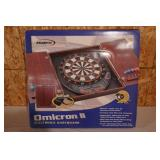 HALEX OMICRON II ELECTRONIC DARTBOARD-NEW IN BOX