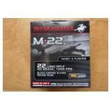.22LR WINCHESTER M-22 AMMO-40 GRAIN-500 ROUNDS-