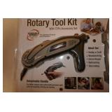 NEW ROTARY TOOL KIT W/ 72 PC.ACCESSORY KIT