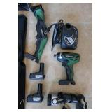 HITACHI 10.8V CORDLESS COMBO KIT-RECIPOCATING SAW,