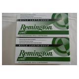 22-250 REM REMINGTON UMC AMMO-50 GR.JHP