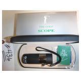 NEW 8 x 21 POWER GOLF ADJ. SCOPE W/CASE