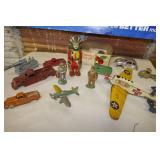 ASSORTED METAL & TIN TOYS-HUBBLE PLANE
