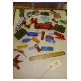 VINTAGE ASST. METAL & PLASTIC TOYS