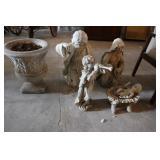 PLASTIC RELIGIOUS ITEMS, URN
