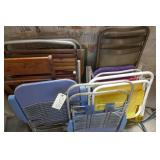 ASSORTED LAWN CHAIRS