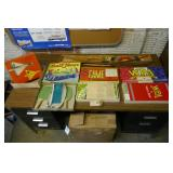 BOXED TOYS, GAMES