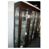 CHINA CABINET W/ LIGHTS