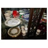 TEA CUPS,PLATES,COFFEE MUGS,NUT CRACKER,ETC.