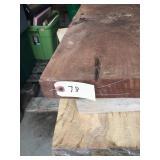 "1 Board- Black Walnut Rough Cut 11""x86""x1 3/4"""