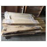 Approx. 39 Salted Maple boards- Asst. 4