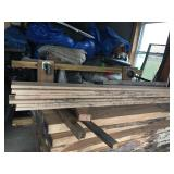 "Hickory Board- 6 3/4"" x 94"" x 3/4""  Times 7"