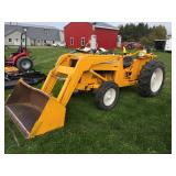 Int. 2500 Series Tractor w/ MF Loader & Bucket-3PT