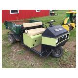 Cushman Turf Truckster 3 Wheel Utility Cart