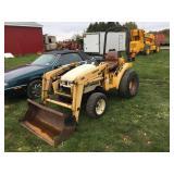 Cub Cadet 7194 Tractor w/L106 Loader & Bucket
