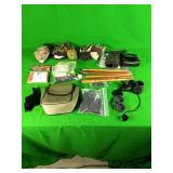 Gloves, range finder, scope covers, ect.