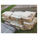 Pallet -Natural Edge West Mountain Stone Slabs